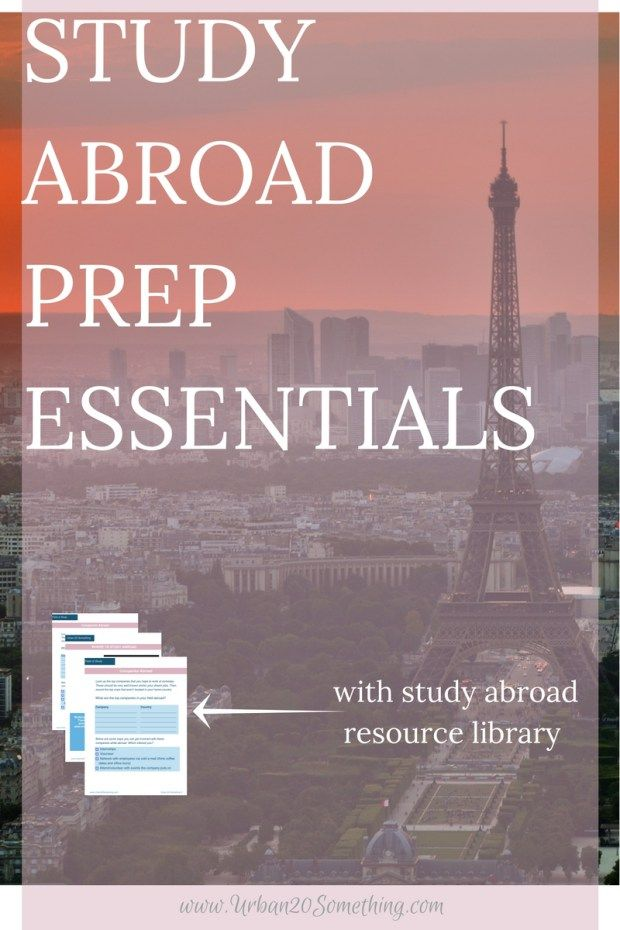 Properly and actively preparing to study abroad can pay dividends - list of professional skills