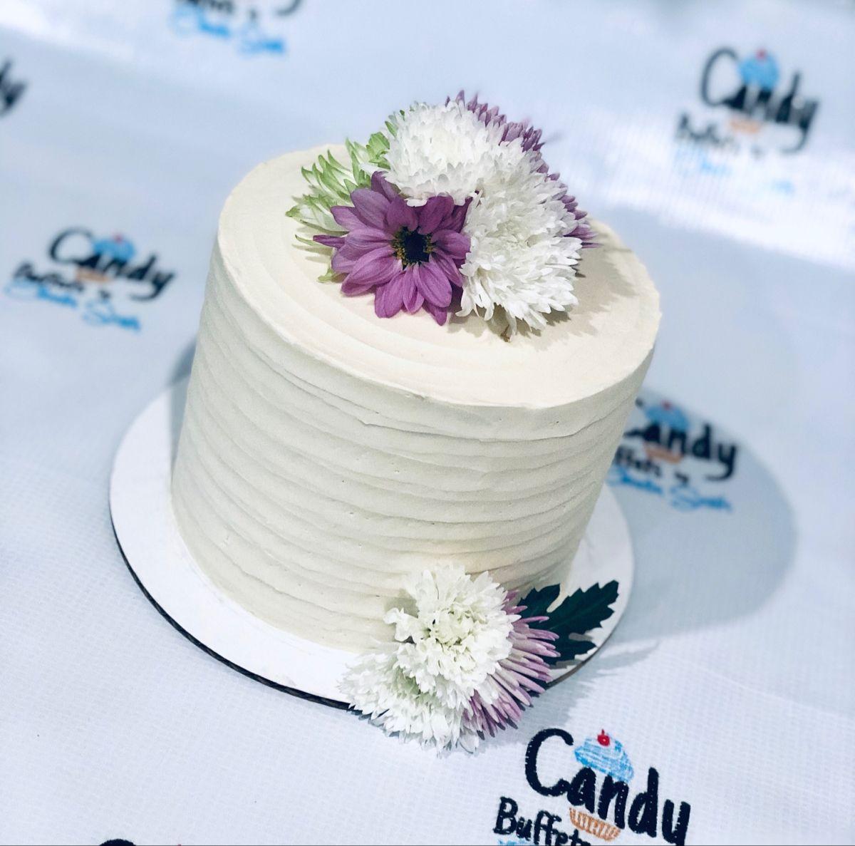 #whitecakerecipe #flowercake #smashcake