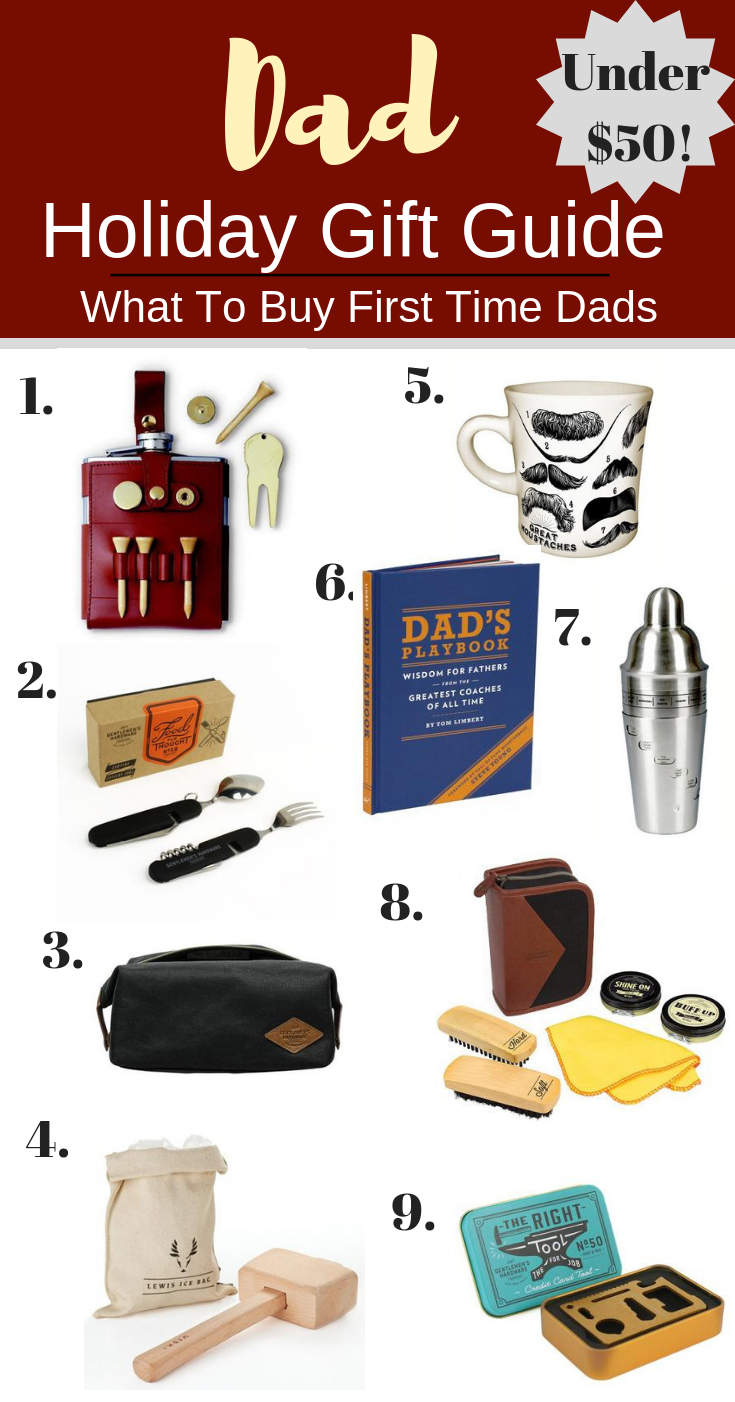 Dad Holiday Gift Guide What To Buy First Time Dads For Christmas First Time Dad Gifts Gifts For New Dads Gifts For Dad