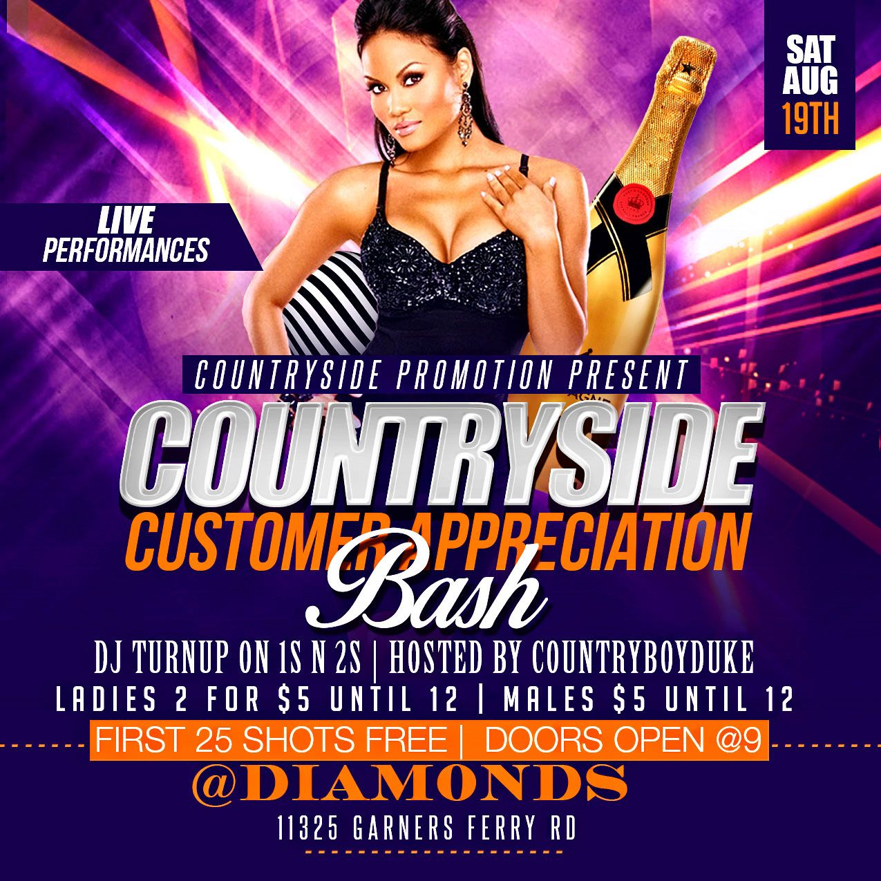 Top Flyer of the day! CountrySide Customer Appreciation