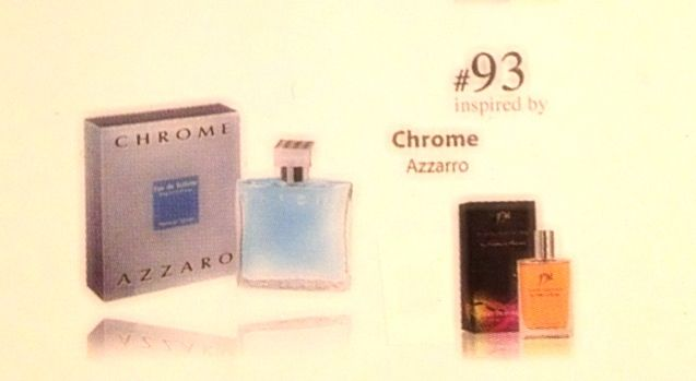 # 93 inspired by Chrome   50 ml