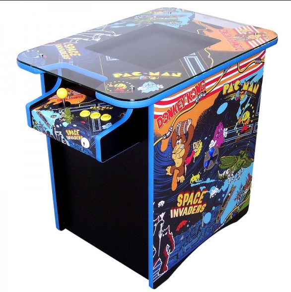 Retro 60 Arcade Machine - Multigame: The Retro Arcade 60 is a two player  cocktail table style arcade machine based on the 'pac man' cocktail table  style of ...