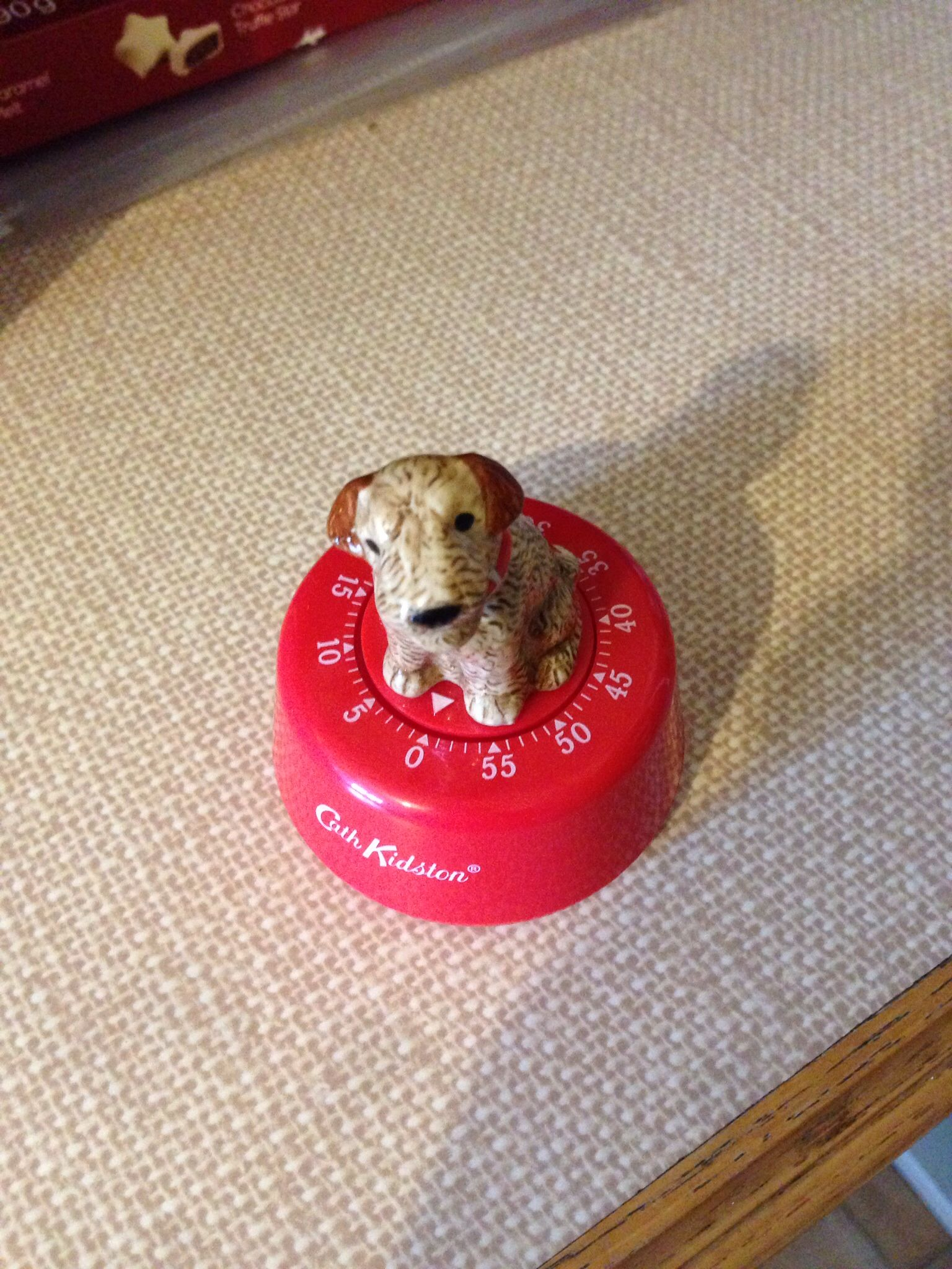 Cath Kidston Stanley dog kitchen timer - has a very good ding!!