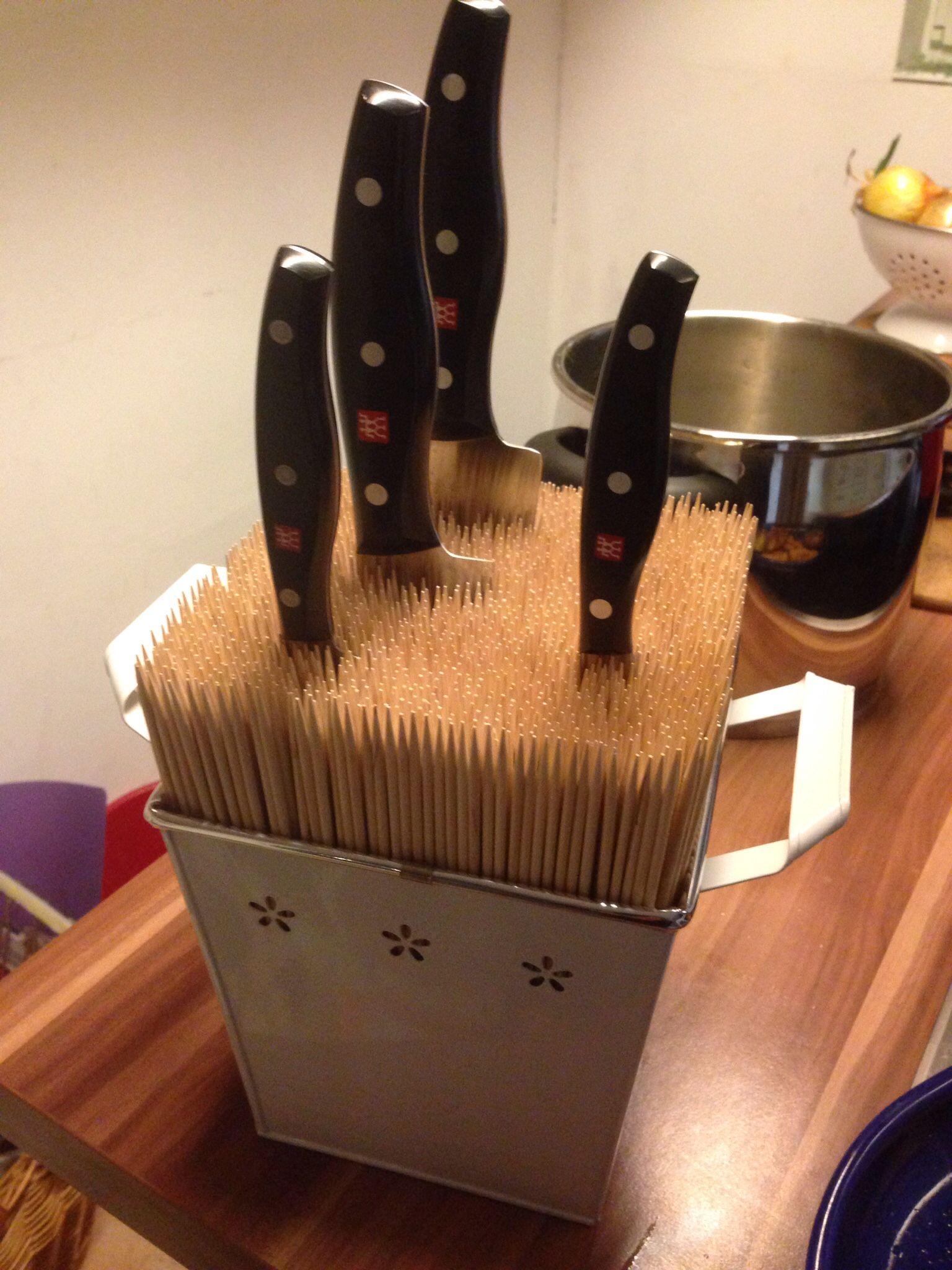 Individueller Messerblock einfach schnell gemacht