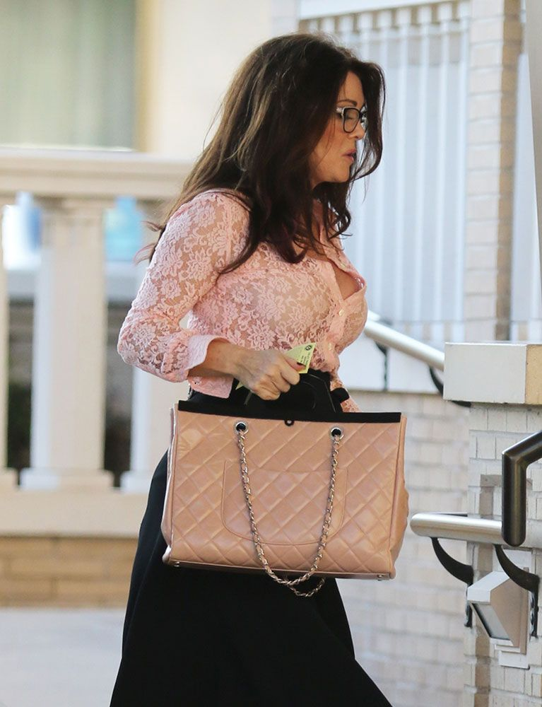 1cc14561e3c4 Let's Check In On Lisa Vanderpump's Chanel Bag Collection (and a Few Non-Chanel  Bags, Too)