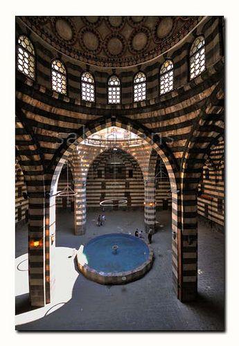 خان أسعد باشا Old Syrian House Damascus Syria Historical Place Architecture