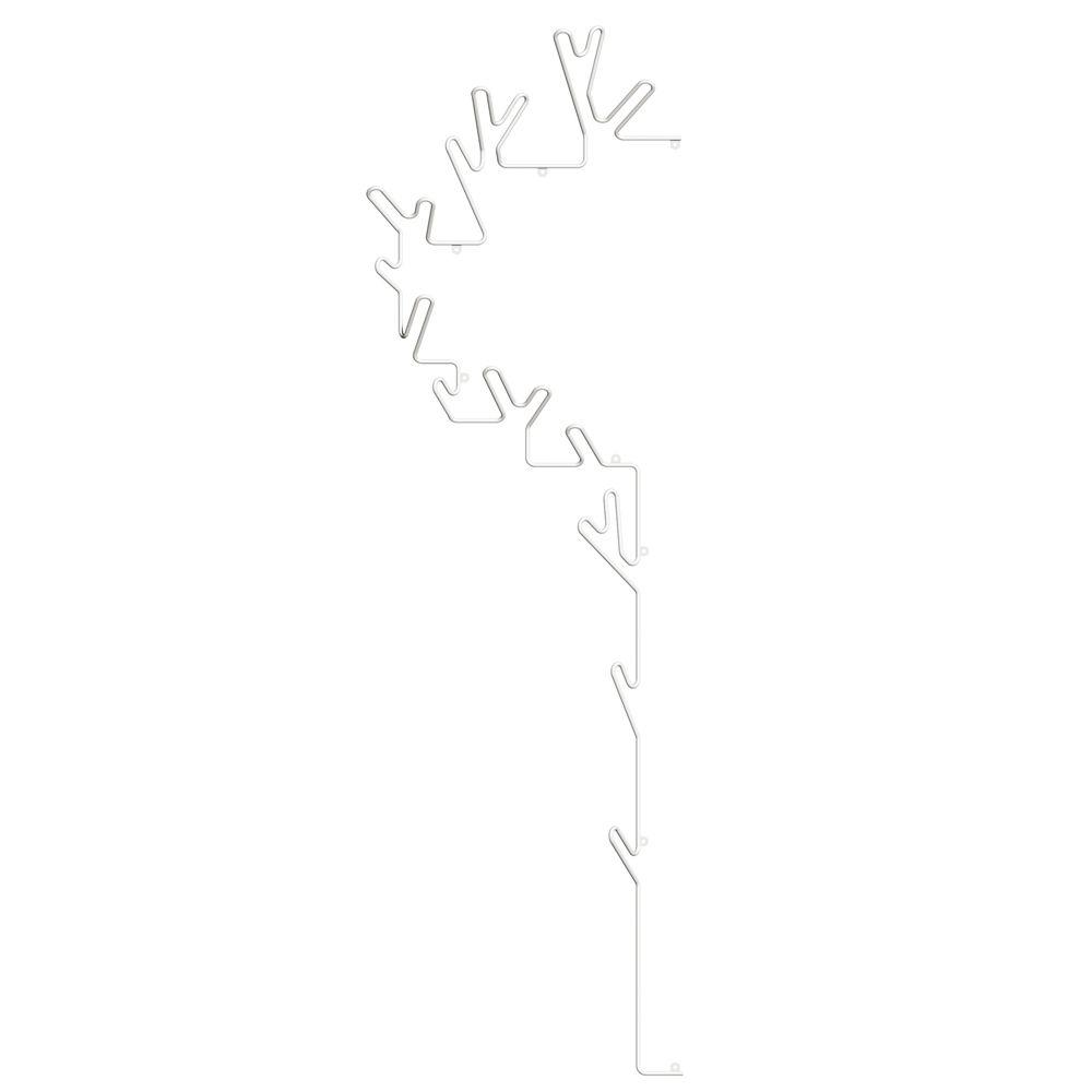 Tree Hanger Left Ripustin, Valkoinen, Maze
