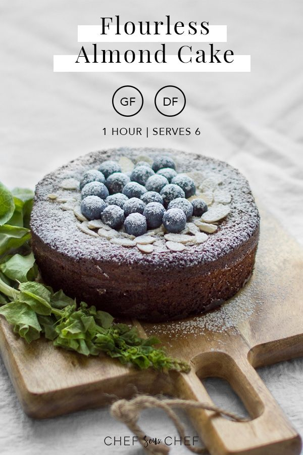 Moist nutty fluffy and light this naturally glutenfree and dairyfree cake is a lovely foundation that can be topped with any of your favourite berries Get the recipe at