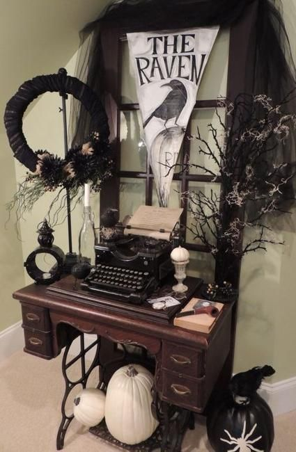 unique vintage decor ideas for halloween party