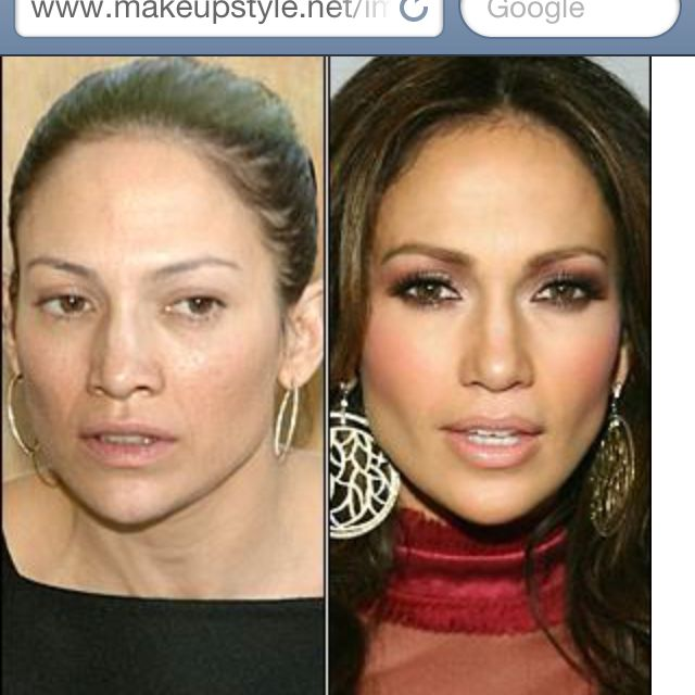 Every celeb would look completely ordinary if it weren't for expensive clothes and makeup!