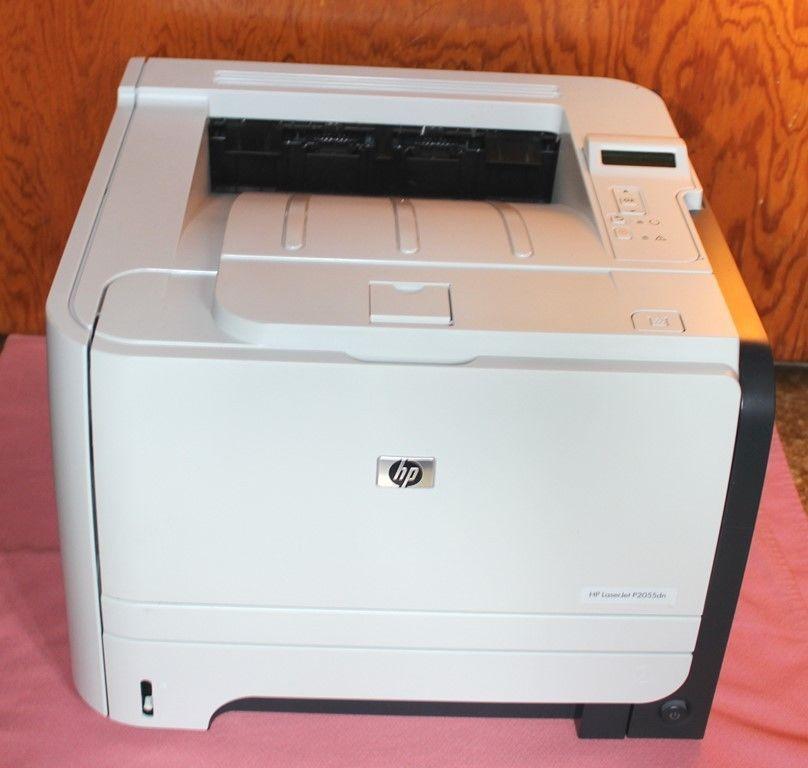 Hp Laserjet P2055dn Laser Printer Very Clean Tested Printer Scanner