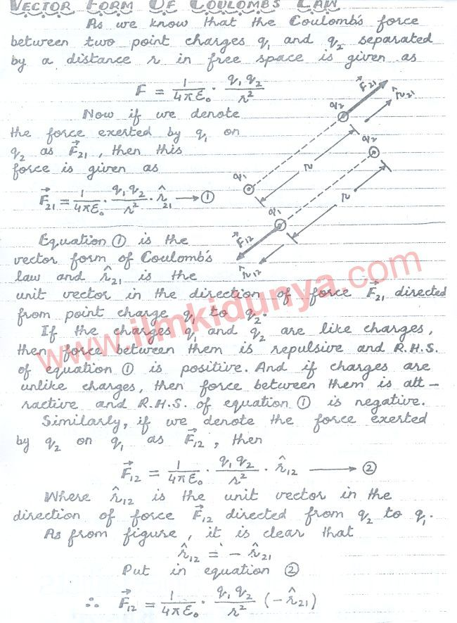 punjab board 12th class physics chapter 12 notes   physic