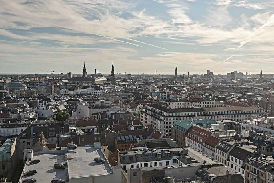 A view of central Copenhagen, where Michelin stars are raining down on a thriving restaurant scene just as residential prices are surging. The two trends are related, say the Danish capital's chefs, architects and real estate developers.