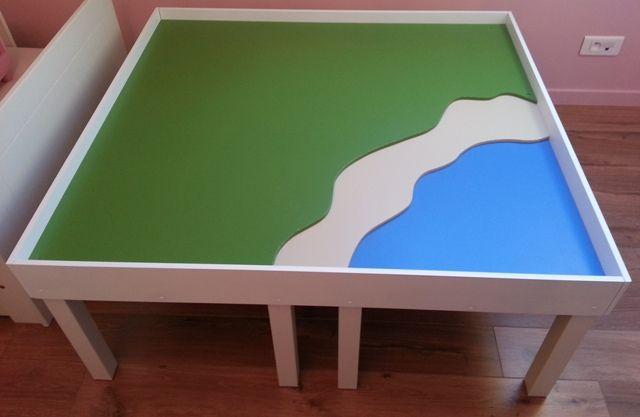 Forums autres construire une table de jeux playmobil pour enfants mini cr ateurs pour - Table de jeux pour enfant ...