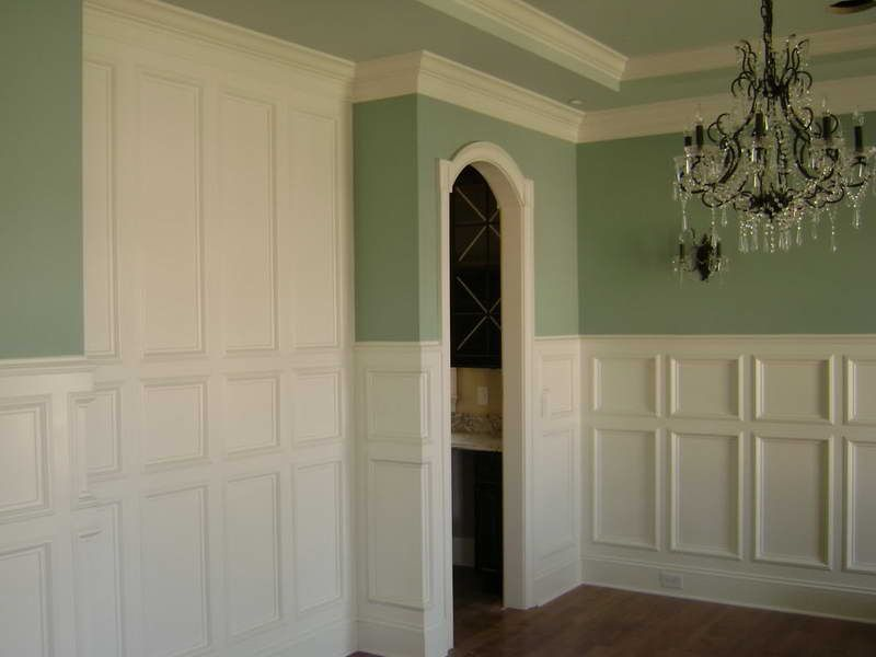 Pictures Of Raised Panel Walls Bing Images Wainscoting Styles