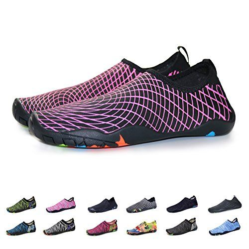 Men Women Barefoot Quick-Dry Water Sports Shoes Multifunctional Sneakers With Drainage Holes For SwimWalkingYogaLakeBeachGardenParkDrivingBoating