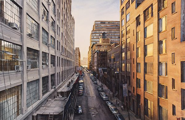 New York City in Watercolor on Behance