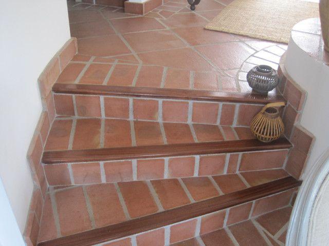 Resultado de imagen para escaleras rusticas de madera cemento - escaleras de madera rusticas