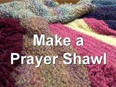 Basic Prayer Shawl patterns knit and crochet #prayershawls
