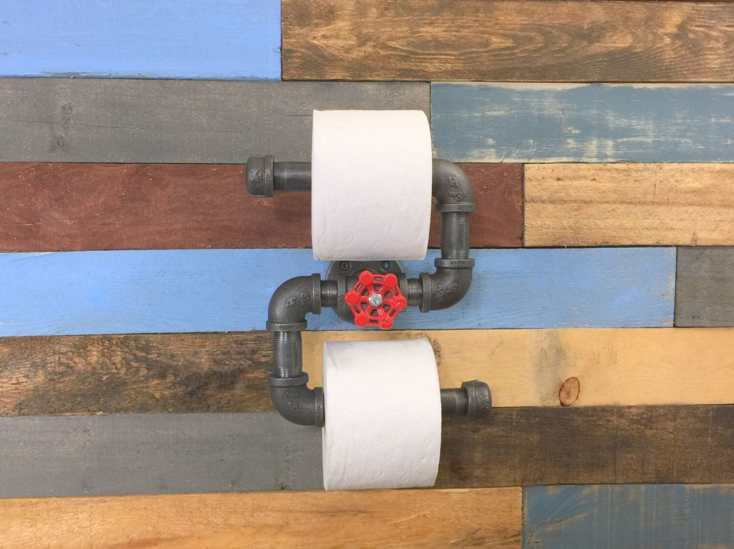 Man Cave Toilet : Industrial toilet paper holder home decor man cave