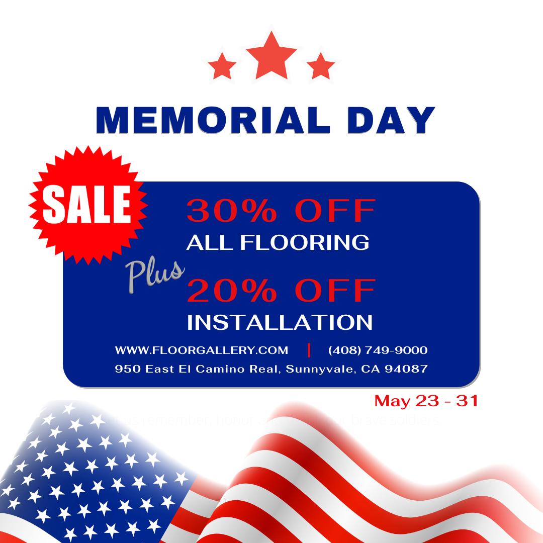 Memorial Day Floor Gallery Sunnyvale Memorial Day Flooring Store