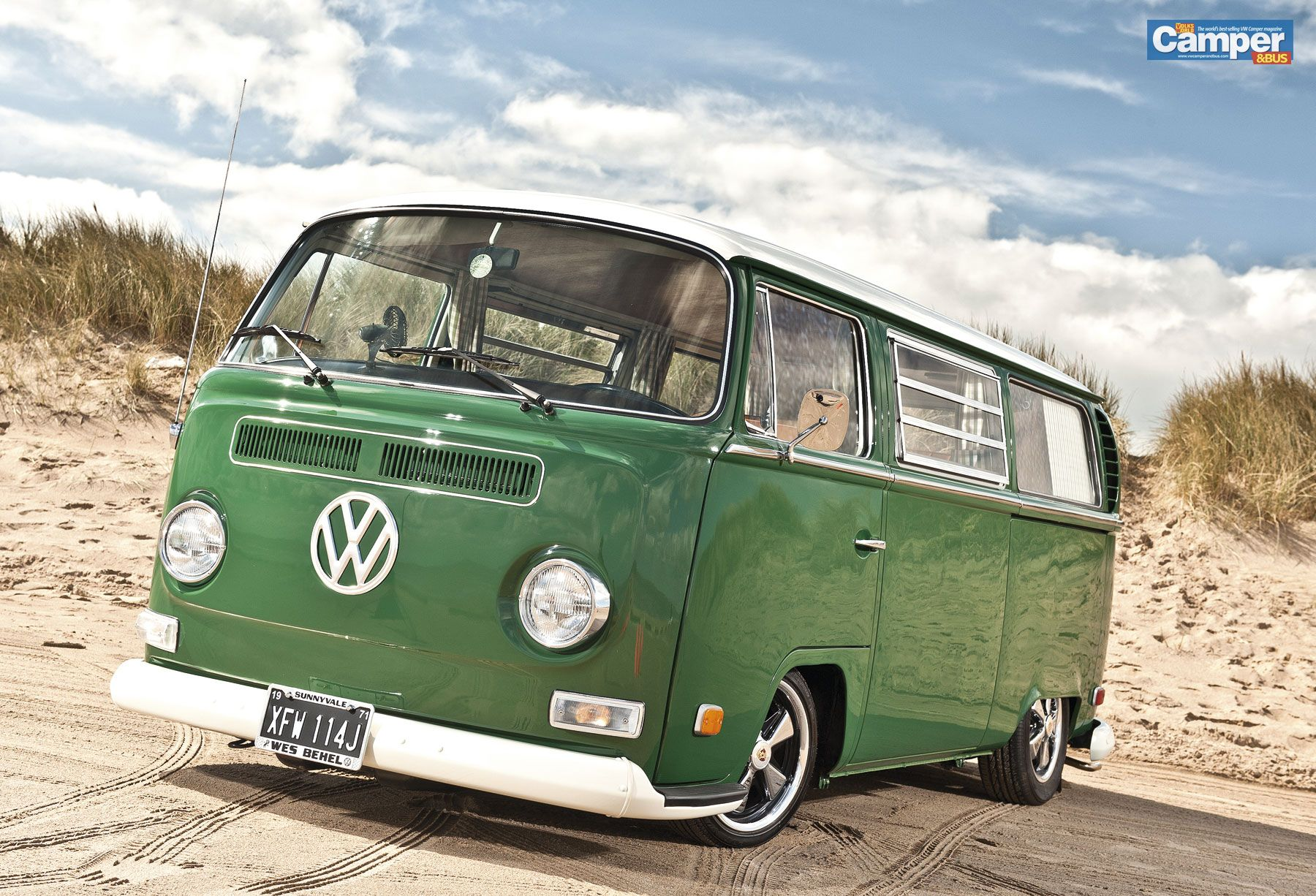 Camper Bus Wallpaper From July 2012 Issue Vw Camper And Bus Vintage Vw Bus Vw Bus Camper Vw Camper