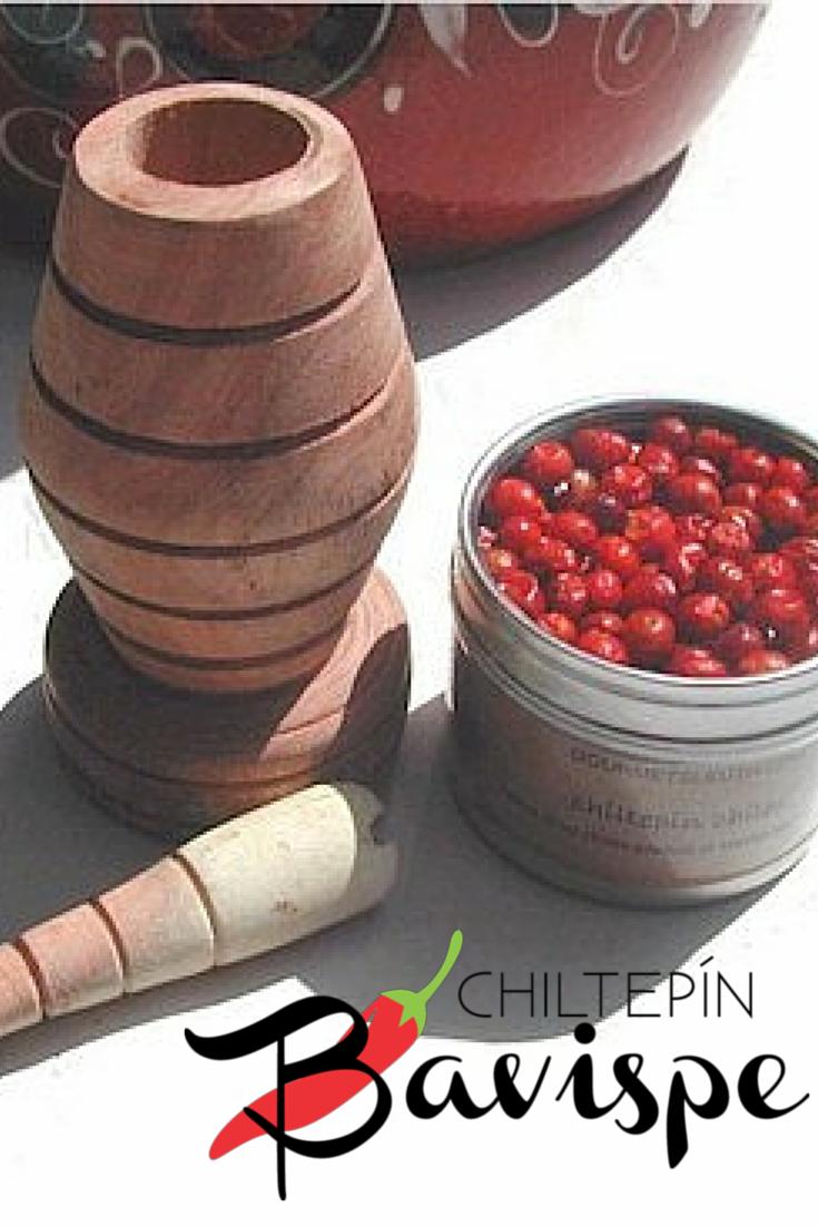 Chiltepin Bavispe es un chiltepin orgánico de la Sierra de Bavispe, Sonora. Orgánico porque no contiene insecticidas y es cosechado a mano.