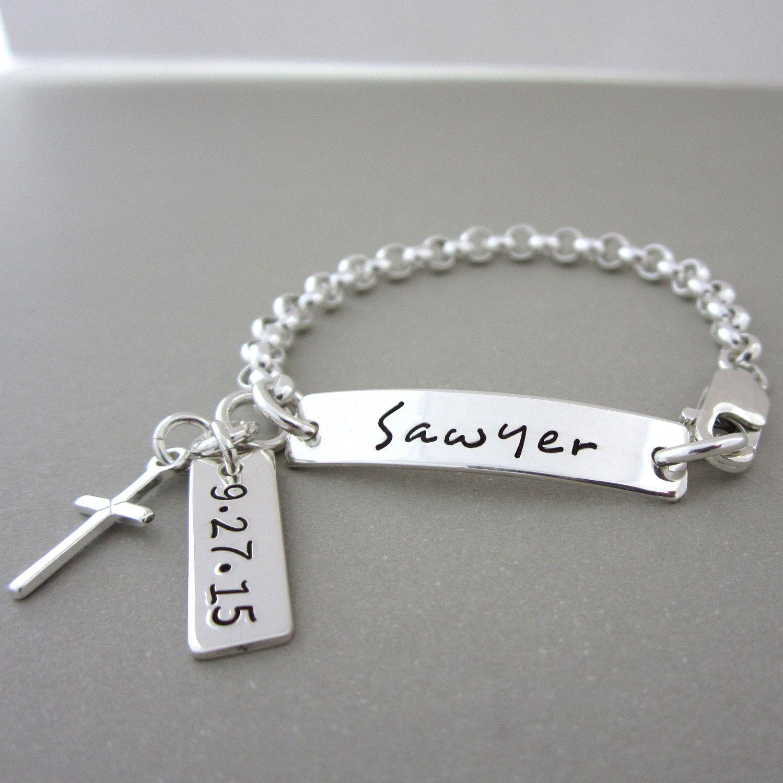 Baptism Gift Girl Bracelet, Baptism Gift Girl Jewelry