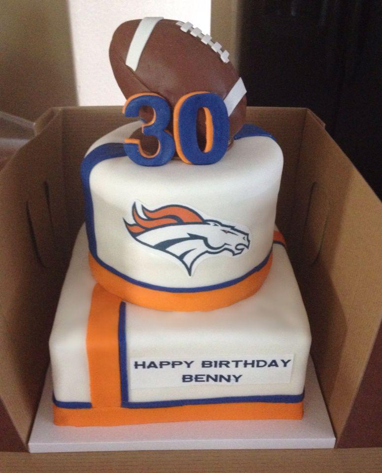 Denver Broncos cake Cakes Pinterest Denver broncos cake