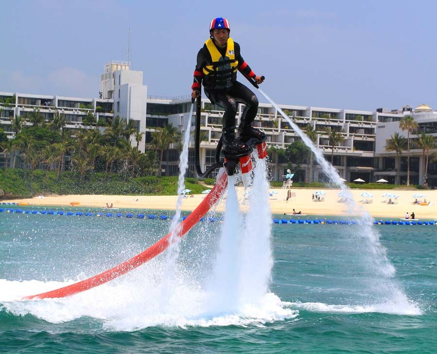 """Fly Board"""" is the latest """"Extreme on water"""" Japan Update"""