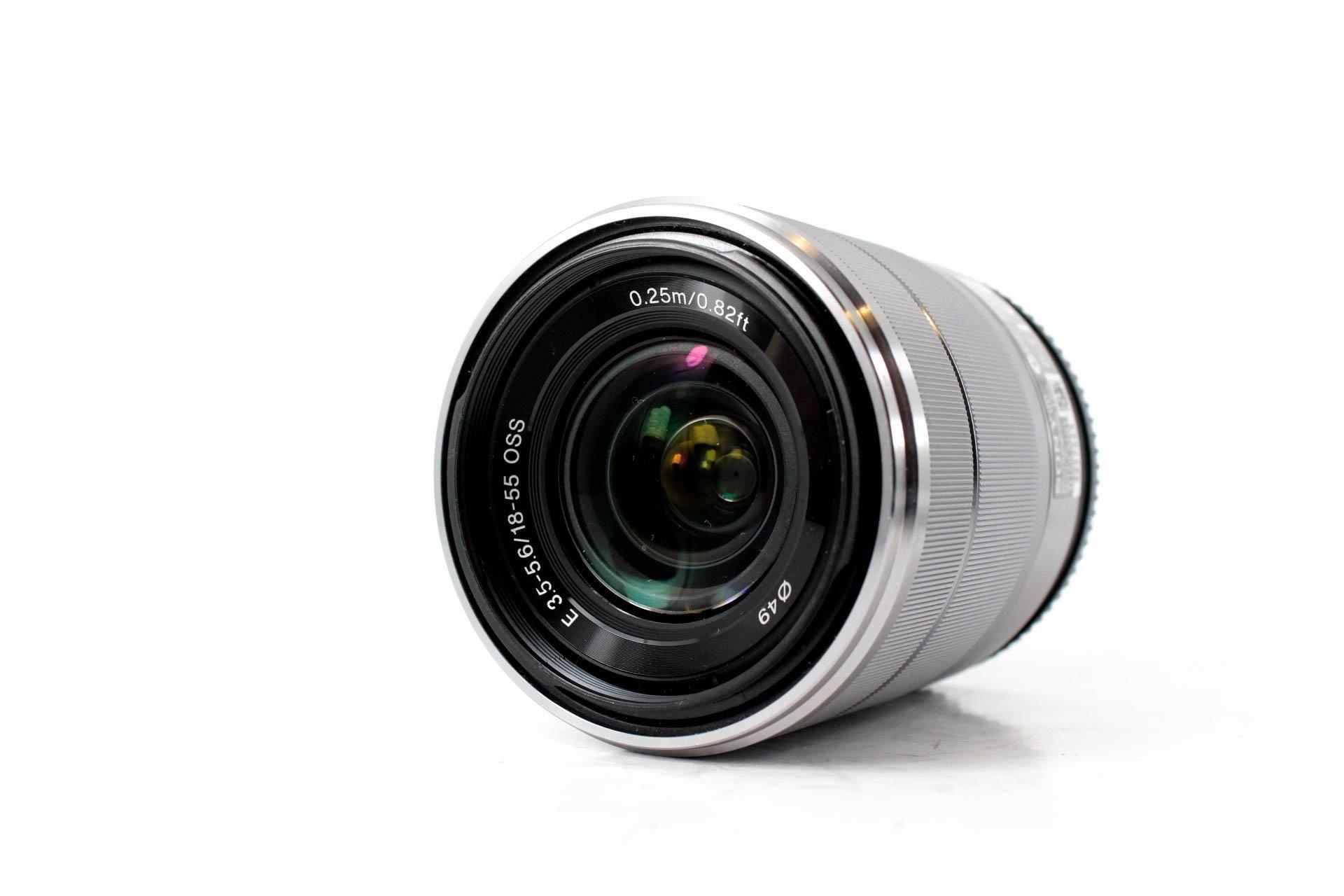 Used Sony 18 55mm F 3 5 5 6 Oss Lens Mpb Com 99 Oss Sony Lenses Lens