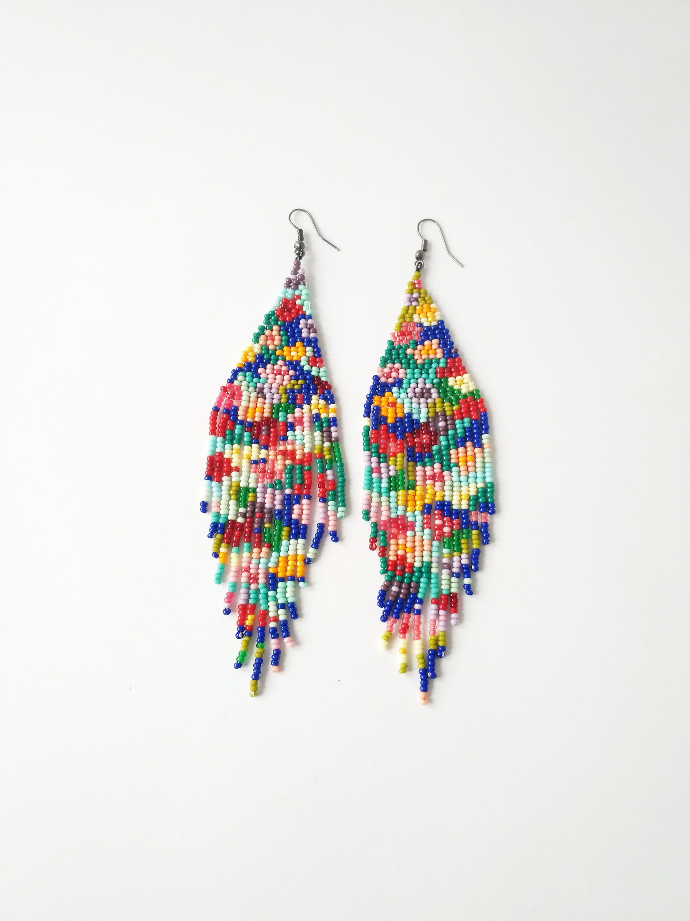 Native American Beaded Earrings Patterns Free Interesting Decorating