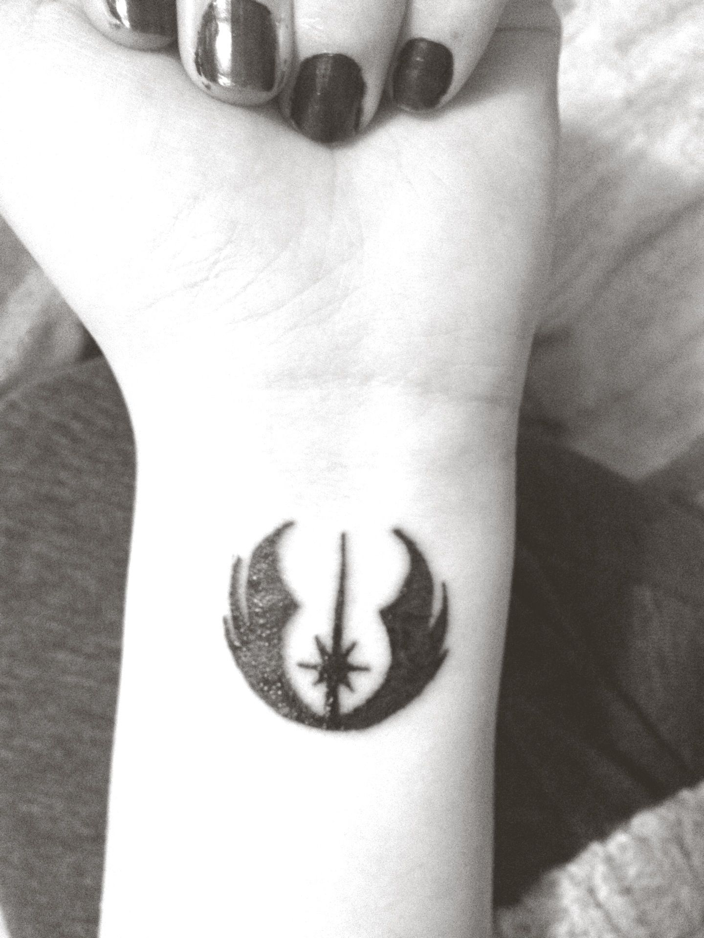 Im Planning To Get A Tattoo Of The Jedi Order Symbol Maybe Not On