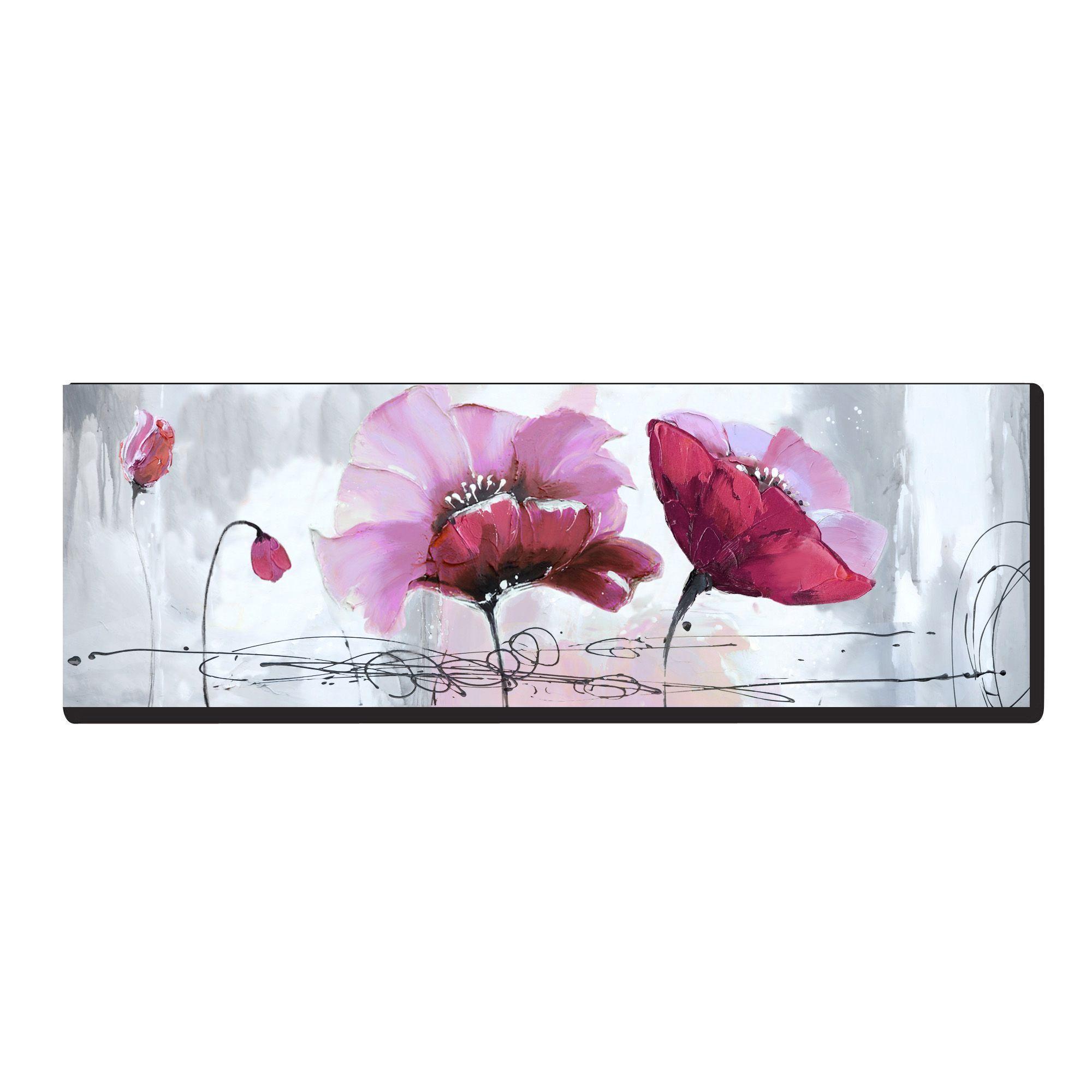 peinture sur toile 50x150cm pava