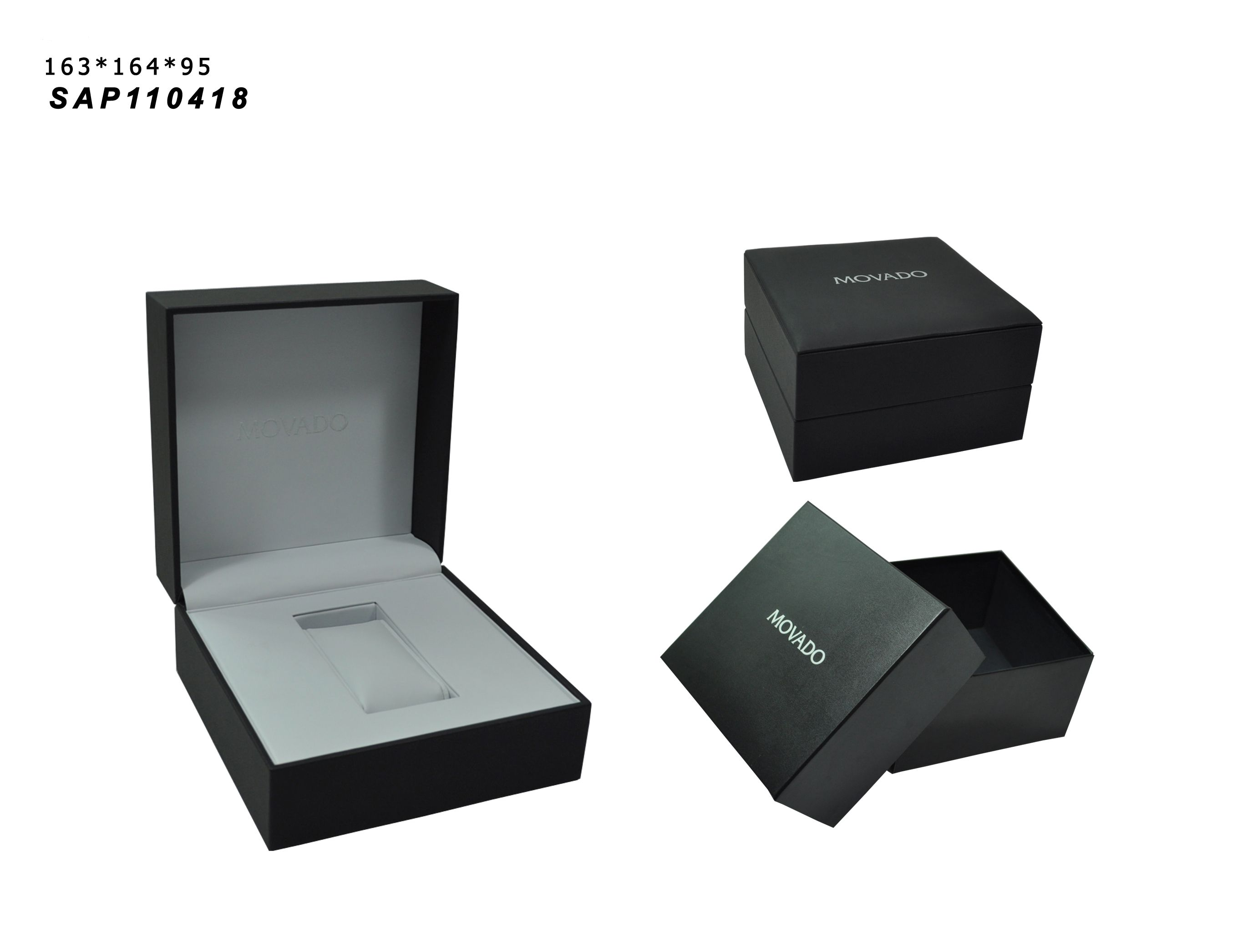 Wholesale Jewelry Packaging Wholesale Watch Packaging Box Recycled Hard Cardboard Paper