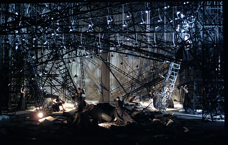 """Set Design by Michael Levine, from """"Walkure"""" by the Canadian Opera Company"""