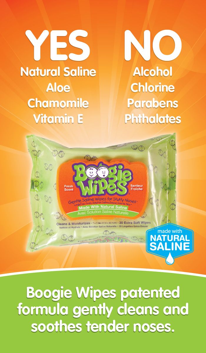 What Makes Boogie Wipes Saline Nose Wipes Different Boogie