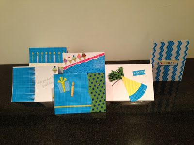 fun homemade birthday cards Side by Side Design Projects – Fun Homemade Birthday Cards