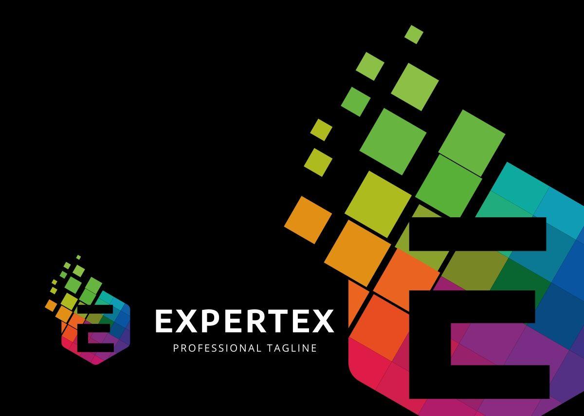 Expertex e letter logo template 69657 templatemonster