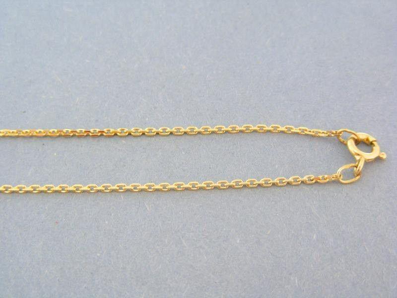 Zlatá retiazka žlté zlato vzor ručná pílka