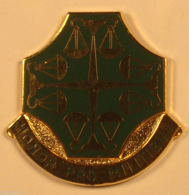 US Army 502nd Military Police MP Battalion (CID) Insignia
