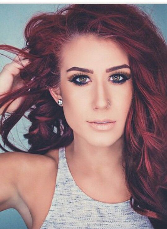 Red Hair Don T Care Really Like This Color Beautiful Chelsea Houska Hair Hair Red Hair Don T Care