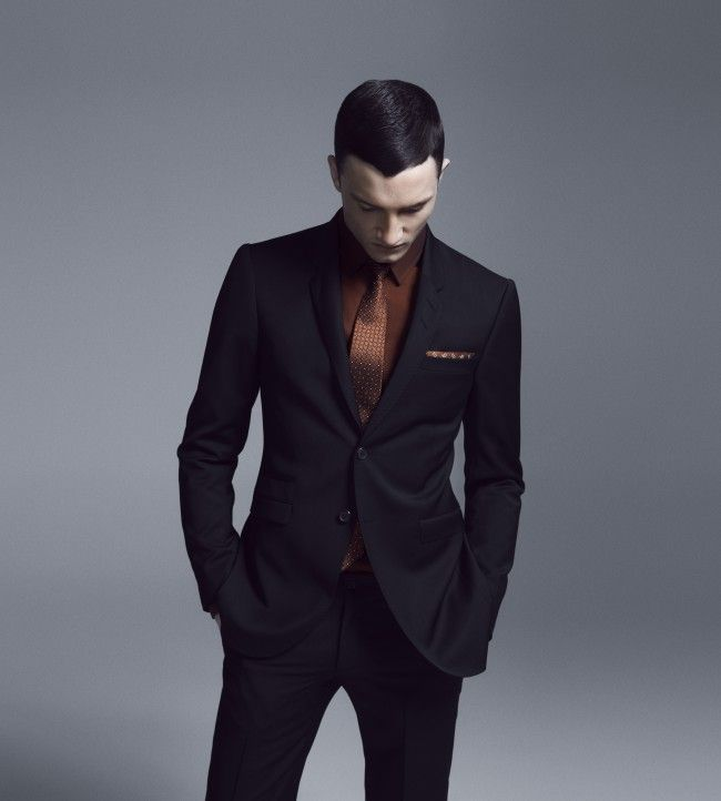 Tiger of Sweden FW12 British model Jacob Coupe