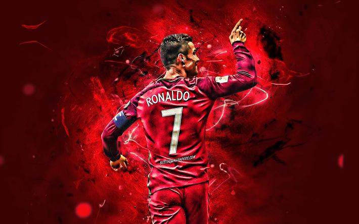 Download wallpapers Portugal National Team, Cristiano