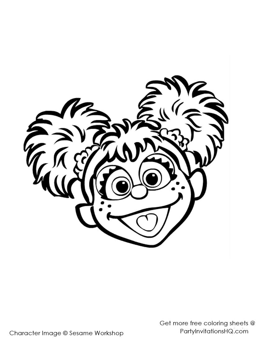abby cadabby birthday coloring pages - Google Search | 1st Birthday ...
