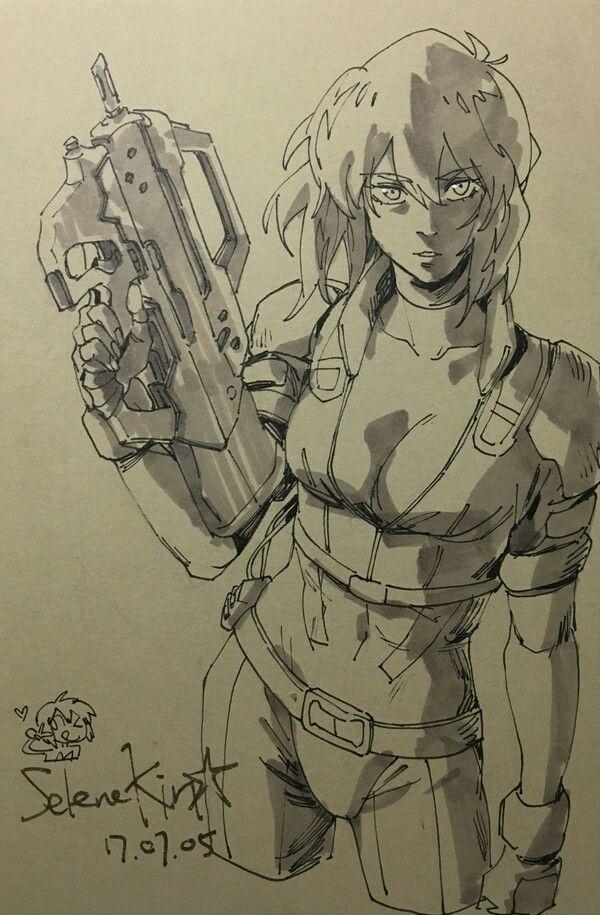 Major Motoko Kusanagi Ghost In The Shell
