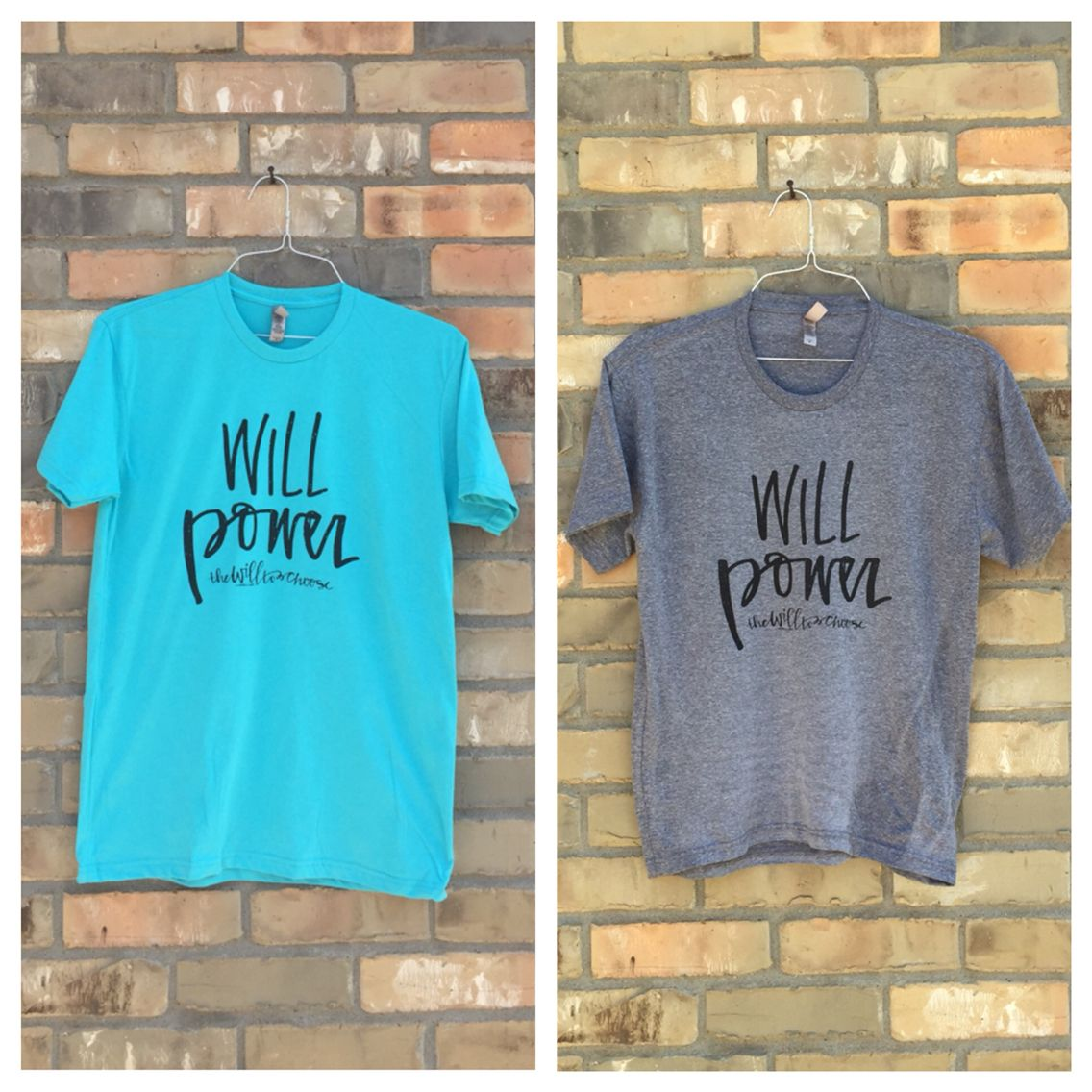 Buy these shirts to support a good cause! Find out more at www.thewilltochoose.com