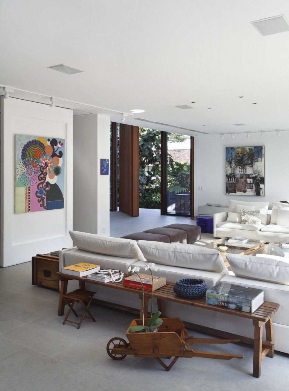 70 Moderne, Innovative Luxus Interieur Ideen Fürs Wohnzimmer   Weiss  Ausstattung Holz Dekoration Wohnbereich