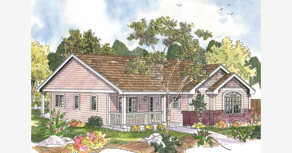 one story modern carribean victorian cottage home plans Bing images