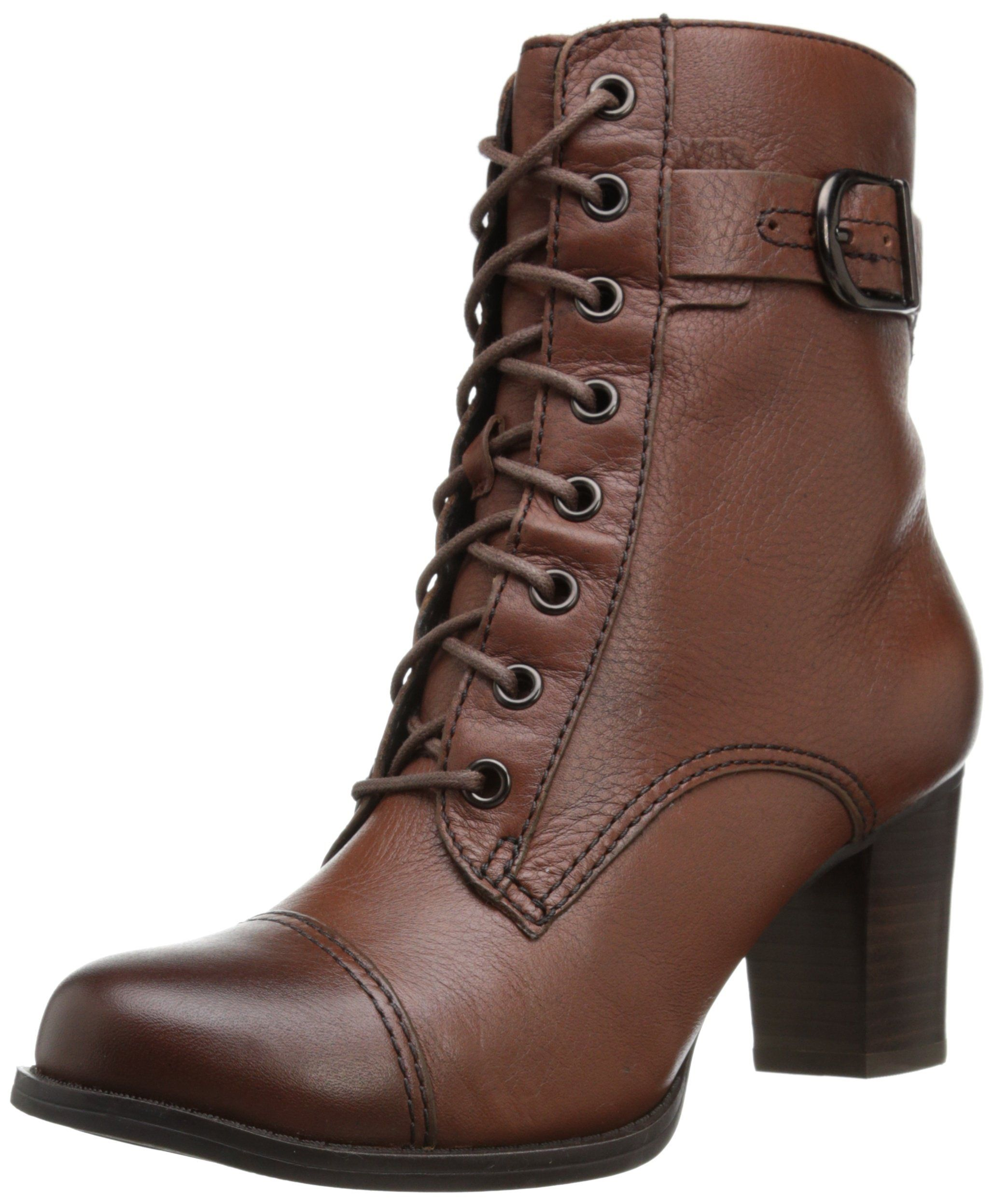 67b7365046ef4 Amazon.com: Clarks Women's Jolissa Gypsum Boot: Black Leather Lace ...